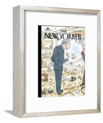 The New Yorker Cover - November 13, 2006-Barry Blitt-Framed Art Print