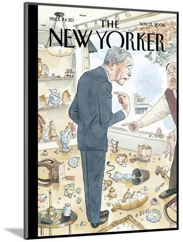 The New Yorker Cover - November 13, 2006-Barry Blitt-Mounted Premium Giclee Print