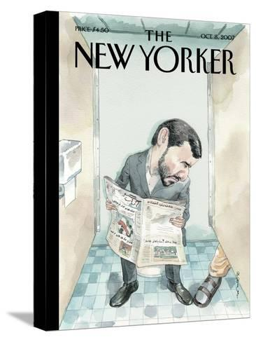The New Yorker Cover - October 8, 2007-Barry Blitt-Stretched Canvas Print
