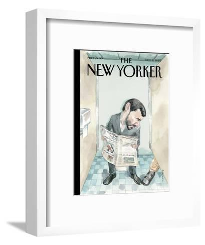 The New Yorker Cover - October 8, 2007-Barry Blitt-Framed Art Print