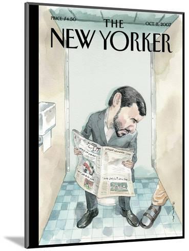 The New Yorker Cover - October 8, 2007-Barry Blitt-Mounted Premium Giclee Print
