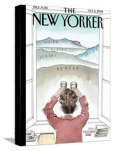 The New Yorker Cover - October 6, 2008-Barry Blitt-Stretched Canvas Print