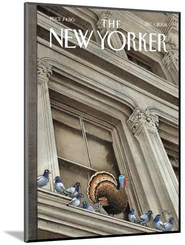 The New Yorker Cover - December 1, 2008-Harry Bliss-Mounted Premium Giclee Print