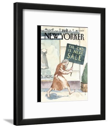 The New Yorker Cover - January 5, 2009-Barry Blitt-Framed Art Print