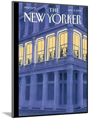 The New Yorker Cover - April 13, 2009-Harry Bliss-Mounted Premium Giclee Print