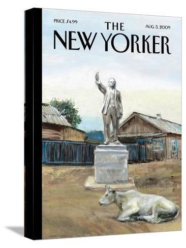 The New Yorker Cover - August 3, 2009-Alex Melamid-Stretched Canvas Print