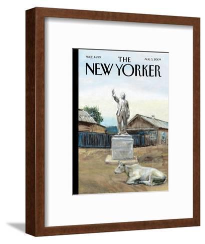 The New Yorker Cover - August 3, 2009-Alex Melamid-Framed Art Print