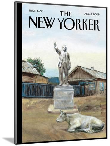 The New Yorker Cover - August 3, 2009-Alex Melamid-Mounted Premium Giclee Print
