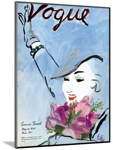 "Vogue Cover - May 1935-Carl ""Eric"" Erickson-Mounted Premium Giclee Print"