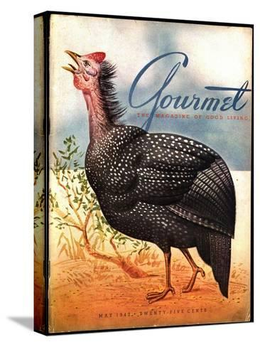 Gourmet Cover - May 1943-Henry Stahlhut-Stretched Canvas Print
