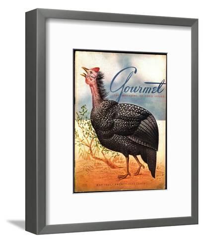 Gourmet Cover - May 1943-Henry Stahlhut-Framed Art Print
