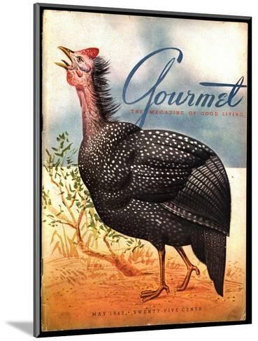 Gourmet Cover - May 1943-Henry Stahlhut-Mounted Premium Giclee Print