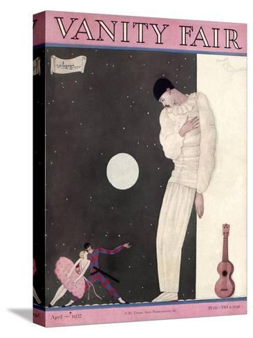 Vanity Fair Cover - April 1927-Georges Lepape-Stretched Canvas Print