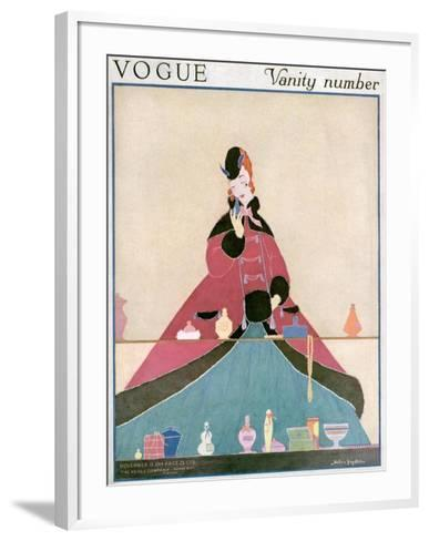 Vogue Cover - November 1914-Helen Dryden-Framed Art Print