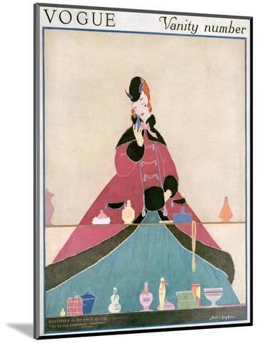 Vogue Cover - November 1914-Helen Dryden-Mounted Premium Giclee Print
