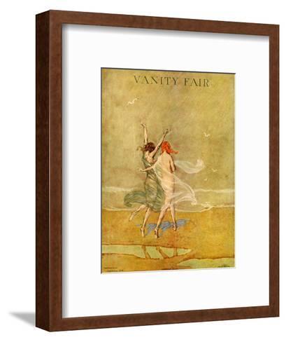 Vanity Fair Cover - September 1918-Warren Davis-Framed Art Print