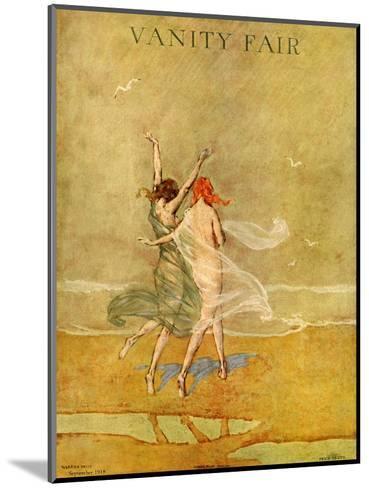 Vanity Fair Cover - September 1918-Warren Davis-Mounted Premium Giclee Print