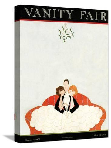 Vanity Fair Cover - December 1921-A. H. Fish-Stretched Canvas Print