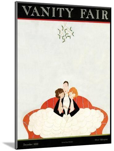 Vanity Fair Cover - December 1921-A. H. Fish-Mounted Premium Giclee Print
