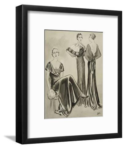 Vogue - August 1933-Creelman-Framed Art Print