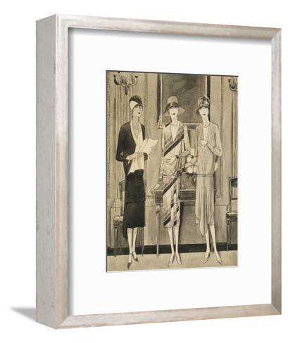 Vogue - June 1928-William Bolin-Framed Art Print
