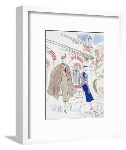 Vogue - September 1934-Cecil Beaton-Framed Art Print