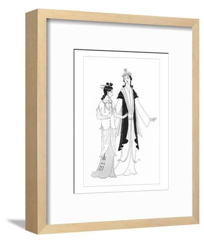 Vogue - April 1922-Claire Avery-Framed Art Print