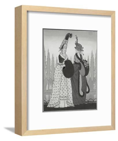 Vogue - October 1925-Claire Avery-Framed Art Print
