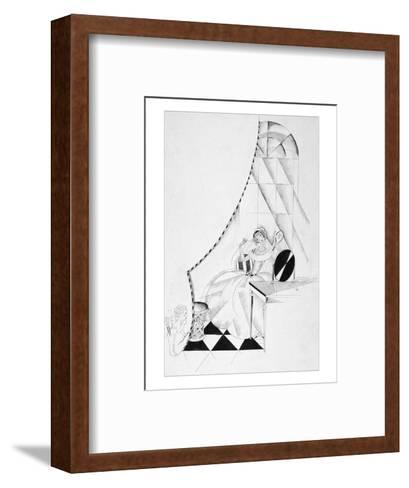 Vogue - October 1922-John Barbour-Framed Art Print