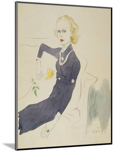 Vogue - March 1933-Cecil Beaton-Mounted Premium Giclee Print