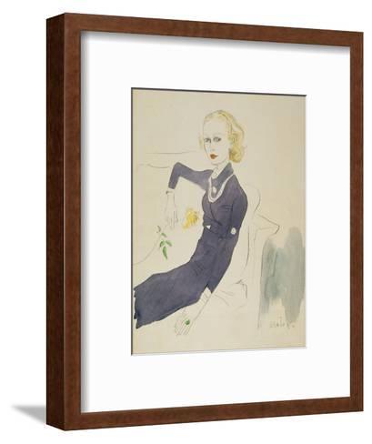 Vogue - March 1933-Cecil Beaton-Framed Art Print