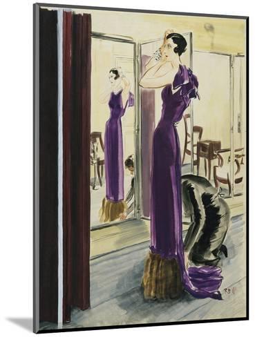 Vogue - September 1933-Ren? Bou?t-Willaumez-Mounted Premium Giclee Print