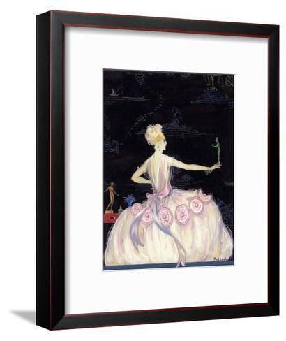 Vogue - October 1920-Robert Kalloch-Framed Art Print