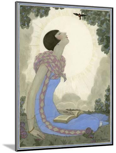 Vogue - May 1926-Georges Lepape-Mounted Premium Giclee Print