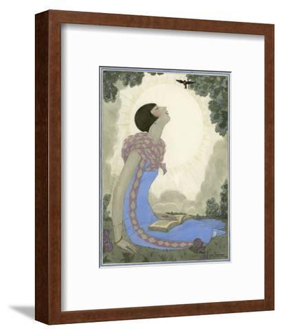 Vogue - May 1926-Georges Lepape-Framed Art Print
