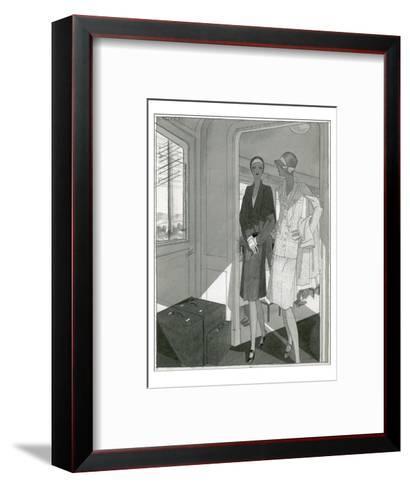 Vogue - June 1929-Jean Pag?s-Framed Art Print
