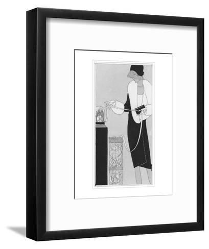 Vogue - April 1929-Jean Pag?s-Framed Art Print