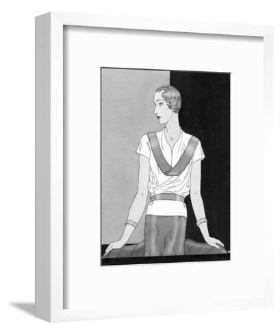 Vogue - March 1933-Douglas Pollard-Framed Art Print