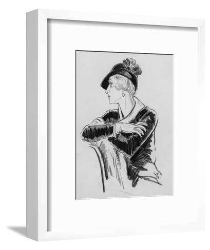 Vogue - December 1931-Porter Woodruff-Framed Art Print