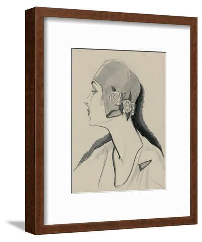 Vogue - March 1929-Porter Woodruff-Framed Art Print