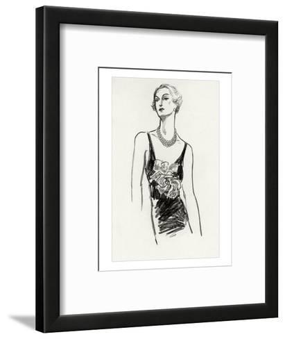 Vogue - December 1934-Porter Woodruff-Framed Art Print