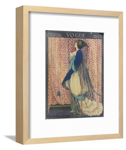 Vogue - March 1915-George Wolfe Plank-Framed Art Print