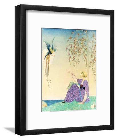 Vogue - February 1914-George Wolfe Plank-Framed Art Print