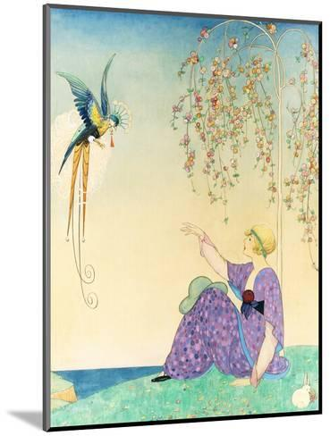 Vogue - February 1914-George Wolfe Plank-Mounted Premium Giclee Print