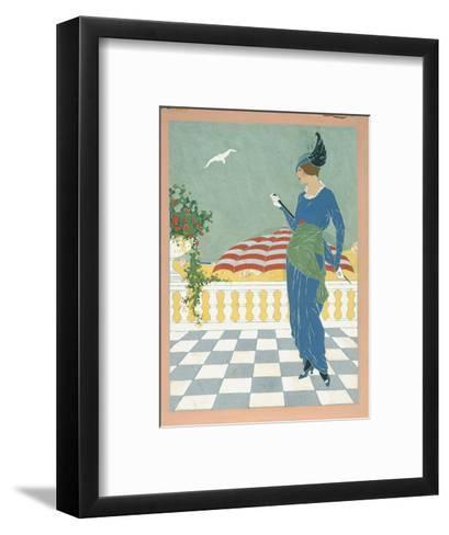 Vogue - August 1913-Will Hammell-Framed Art Print
