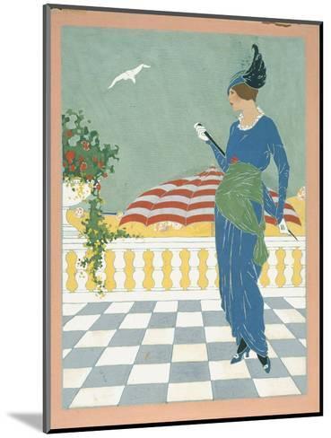 Vogue - August 1913-Will Hammell-Mounted Premium Giclee Print