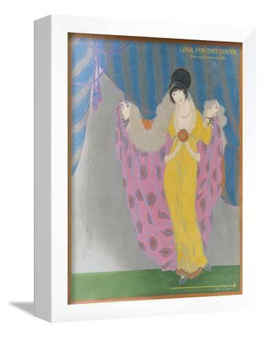 Vogue - October 1913-Helen Dryden-Framed Art Print