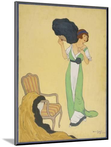 Vogue - October 1911-Helen Dryden-Mounted Premium Giclee Print