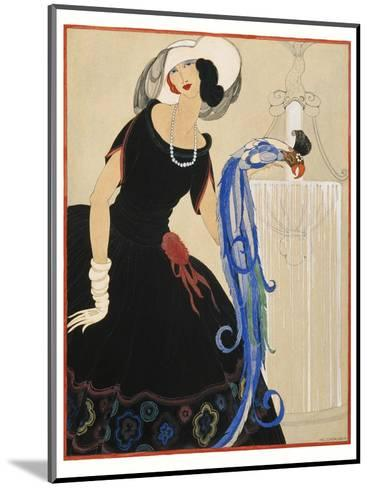 Vogue - June 1921-Helen Dryden-Mounted Premium Giclee Print