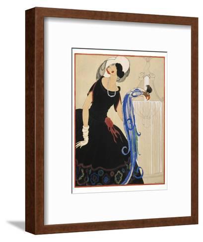 Vogue - June 1921-Helen Dryden-Framed Art Print